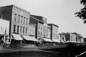 Early Downtown St. Albans